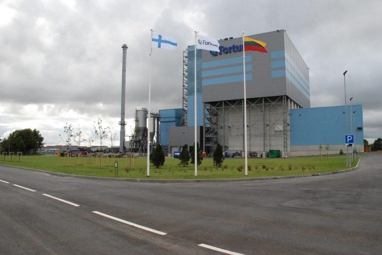 Waste utilization plant, Klaipėda, Lithuania