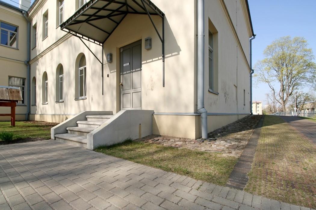Reljef atliktas darbas: Skalbyklos pastato rekonstrukcija į saugojamų teritorijų nacionalinį lankytojų centrą